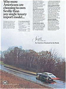 Cadillac Seville Ad