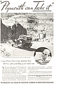 Plymouth Apache Trail AZ AD ad0056 1933 (Image1)