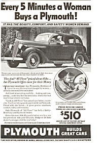 Plymouth Builds Great Cars Ad Ad0072 1936