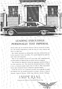 Chrysler Imperial Lebaron Ad ad0082 1962 (Image1)
