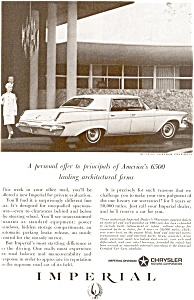 Chrysler Imperial Lebaron Ad  ad0085 1963 (Image1)