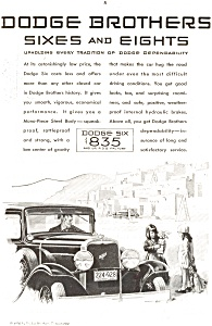 Dodge 6 and 8 Dependability  Ad (Image1)