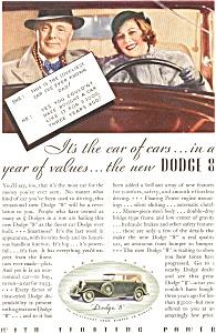 1933 Dodge 8  Ad (Image1)