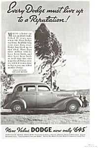 1935 Dodge  Ad (Image1)