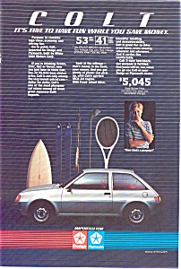 Plymouth Dodge Colt Advertisement ad0105 1984 (Image1)