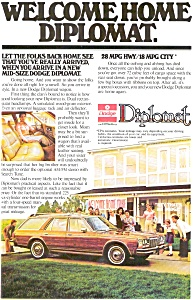 Dodge Diplomat Wagon Advertisement (Image1)