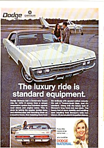 Dodge 1970 Monaco Advertisement (Image1)