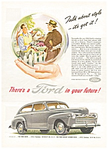 1946 Ford In Your Future Ad Ad0118