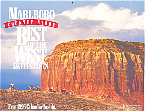 Marlboro Best of the West Calender 1995 (Image1)