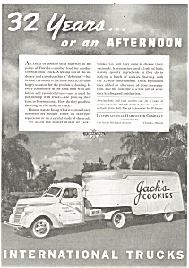 1938 International 3 4 Ton Truck Tractor Ad Ad0160