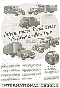 1937 International Full Line Truck Ad Ad0161