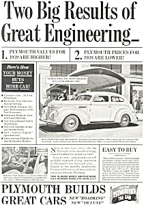 1939 Plymouth Roadking Ad ad0164 (Image1)
