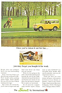 1965 Scout By International Ad Ad0168