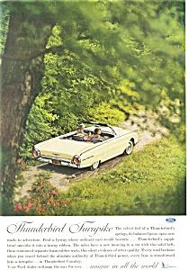 1962 Thunderbird Convertible Ad ad0176 (Image1)