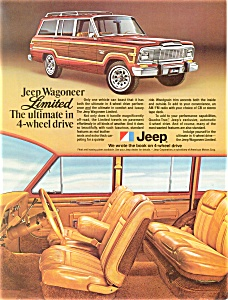 1980 Jeep Wagoneer Limited Ad ad0182 (Image1)