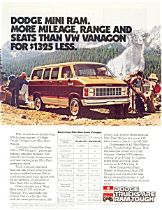 1982 Dodge Mini Ram Wagon Ad (Image1)