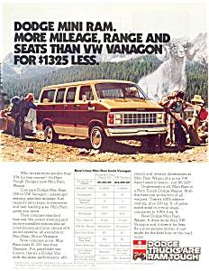 1982 Dodge Mini Ram Wagon Ad ad0187 (Image1)