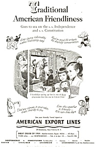 American Export Lines Ad (Image1)