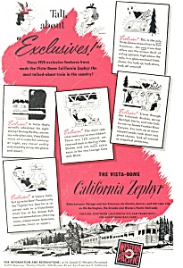 Western Pacific California Zephyr Ad ad0199 (Image1)