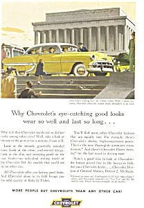 1954 Chevrolet Bel Air Ad ad0212 (Image1)