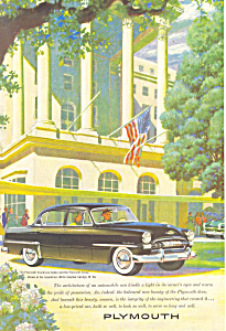 1953 Plymouth Cranbrook Sedan Ad ad0219 (Image1)