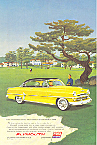 1954 Plymouth Belvedere Sports Coupe Ad ad0221 (Image1)