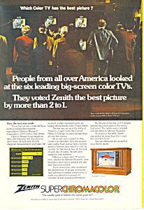 Zenith Superchromacolor TV Ad ad0244 (Image1)