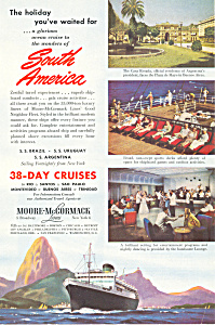 Moore-mccormack South America Ad