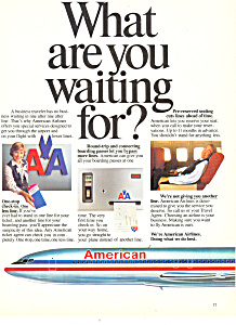 American Airlines Ad Ad0254 1981