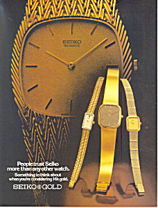 Seiko Gold Ad 1981 (Image1)