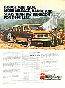 Dodge Mini Ram Ad 1981 (Image1)