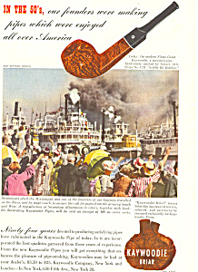Kaywoodie Briar Pipe Ad ad0261 (Image1)