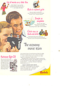 Kodak Kodascope Eight-33 Ad (Image1)