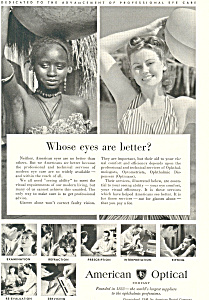American Optical Eye Care  Ad ad0278 (Image1)