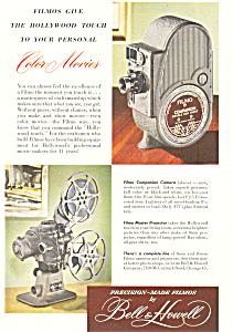 Bell & Howell Color Movies Ad (Image1)