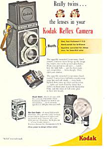 Kodak Reflex Camera  Ad (Image1)