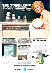 General Electric Dishwasher Ad Debbie Reynolds (Image1)