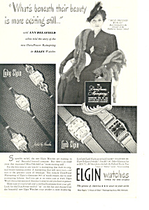 Elgin Watches Ad Ann Delafield (Image1)