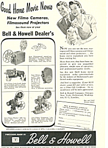 Bell and Howell Filmo Cameras Ad (Image1)