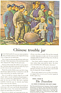 The Travelers Chinese Trouble Jar Ad ad0305 (Image1)