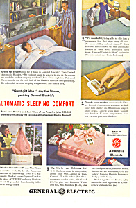 General Electric Automatic Blanket Ad (Image1)
