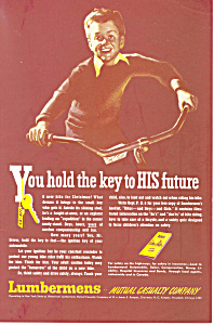 Lumbermens Mutual Casualty Company Ad (Image1)