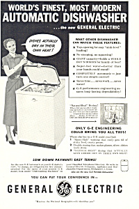 General Electric Automatic  Dishwasher Ad (Image1)