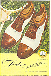 Florsheim Brown and Whites  Ad (Image1)