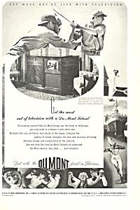 Dumont Televison Ad ad0332 (Image1)