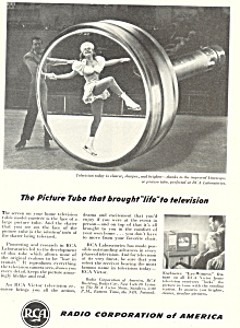Rcatelevison Picture Tube Ad