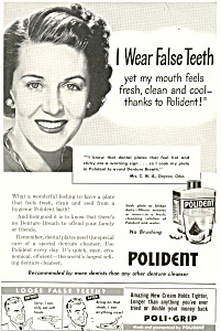 Polident Ad