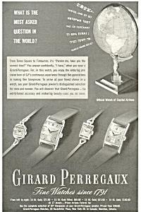 Girard Perregaux Fine Watches Ad (Image1)