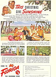 Florida Chistmas Sunshine Ad (Image1)