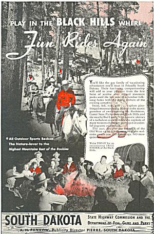 South Dakota Black Hills Ad ad0339 (Image1)